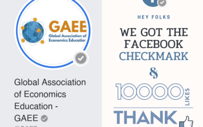GAEE reached 10k followers on Facebook and got the Verified Checkmark