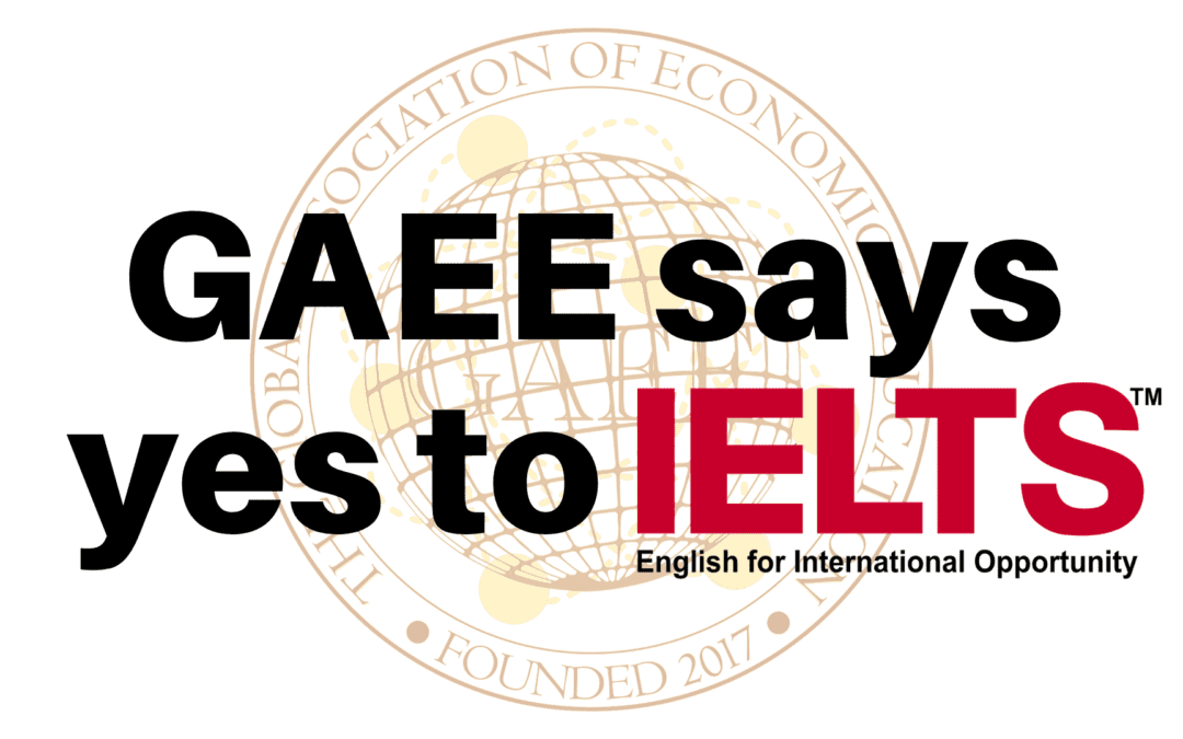 GAEE becomes an official IELTS™ Recognising Organisation