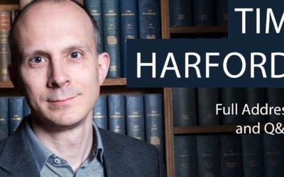 GAEE to host world's famous economist Tim Harford on a webinar